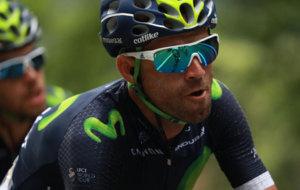 Alejandro Valverde, durante una de las etapas de este Tour de Francia.