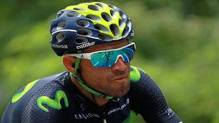 Valverde, durante el presente Tour.