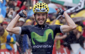 Izagirre gets the first stage victory for any Spaniard.
