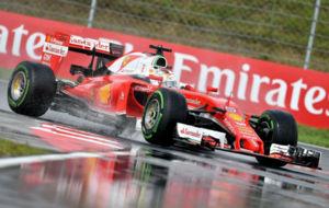 Vettel disputa los entrenamientos oficiales en Hungr�a