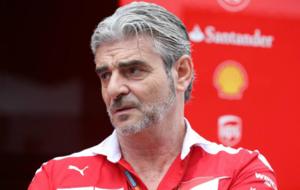 Arrivabene en el Gran Premio de Hungr�a
