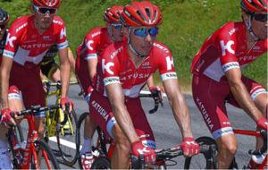 Joaquín Purito Rodríguez durante el Tour de Francia