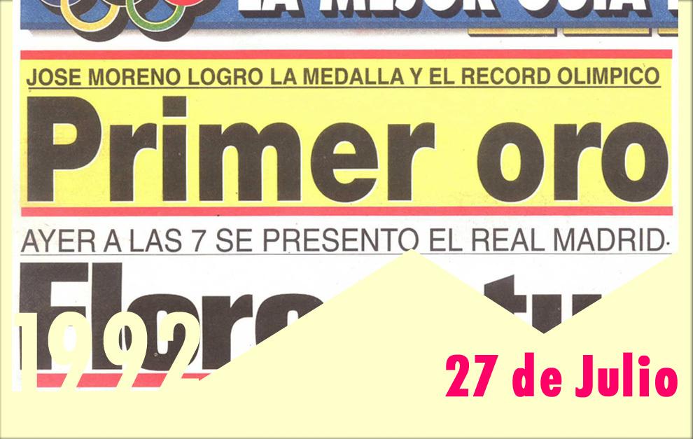 El Primer Oro De Barcelona 92 Marca Com