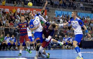 Imagen del Granollers-Barcelona de la �ltima jornada de la pasada...