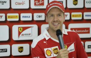 Sebastian Vettel en el GP de Hungr�a esta temporada.