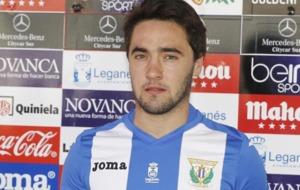 Unai L�pez es presentado como nuevo jugador del Legan�s.