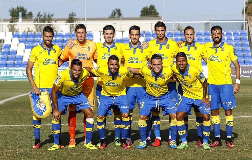 Alineación de Las Palmas antre la selección de los Emiratos Árabes...