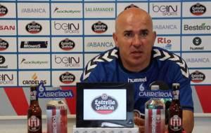 Luis C�sar Sampedro, durante la rueda de prensa ofrecida este viernes