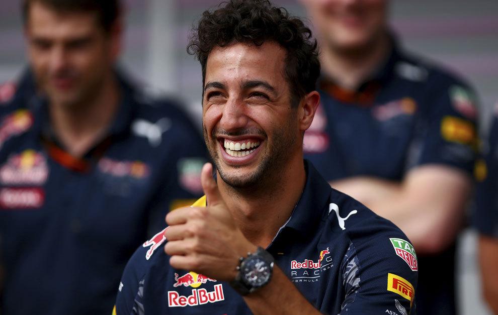 Ricciardo, durante el GP de Alemania