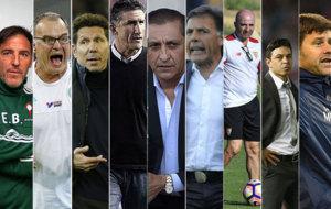 Todos los entrenadores que se vincularon a la selecci�n argentina.