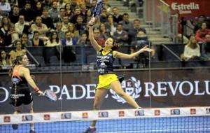 Marta Marrero, durante un partido.