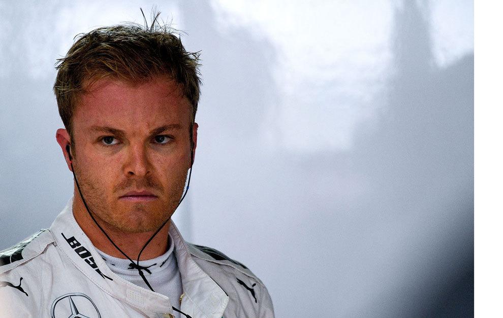 Rosberg, durante el GP de Alemania