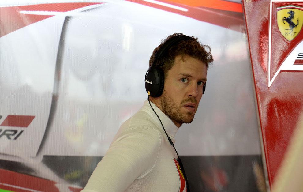 Vettel, en Hockenheim