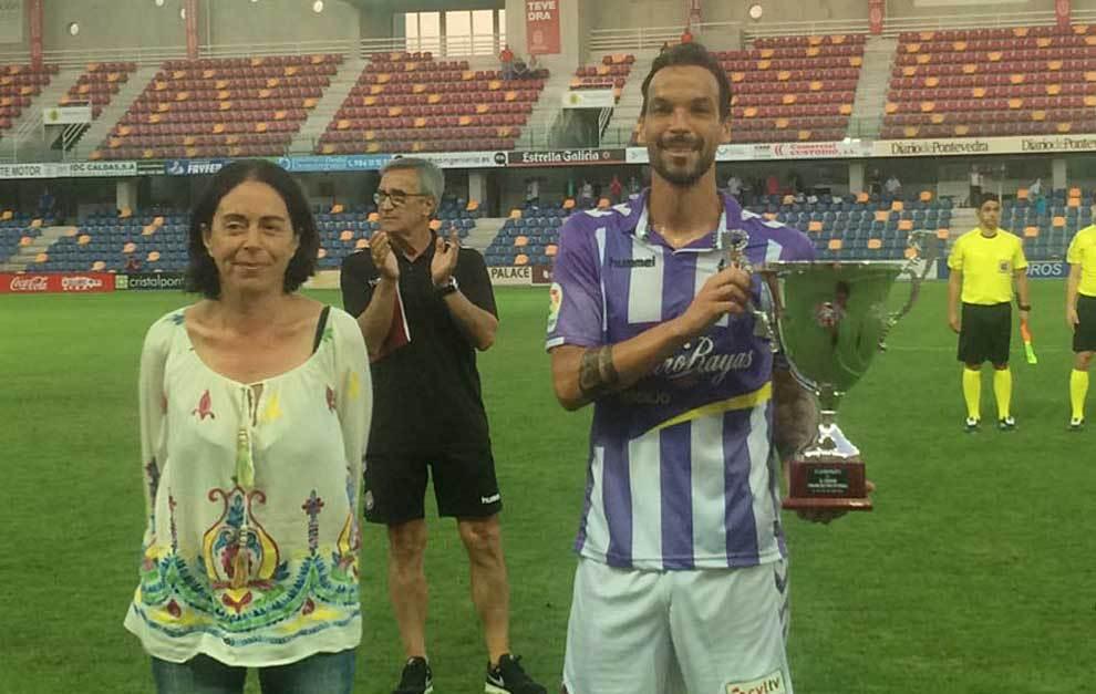 André Leão recoge el XL Trofeo Ciudad de Pontevedra