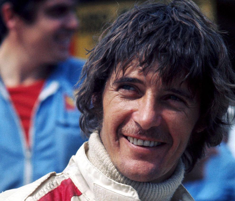 Merzario, durante un GP en 1973