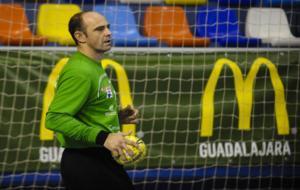 Jos� Javier Hombrados, durante un partido