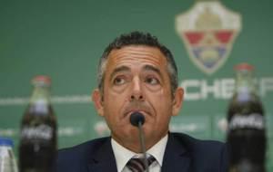 Diego Garc�a, durante una comparecencia ante los medios