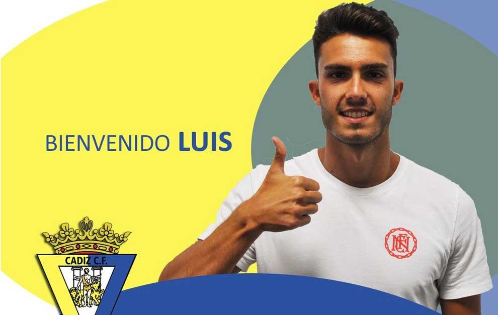 El Cádiz hace oficial el fichaje del lateral Luis Ruiz.