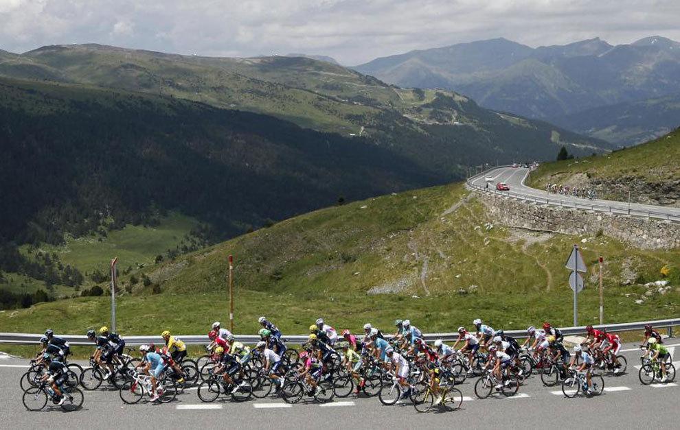 Imagen del pasado Tour de Francia.