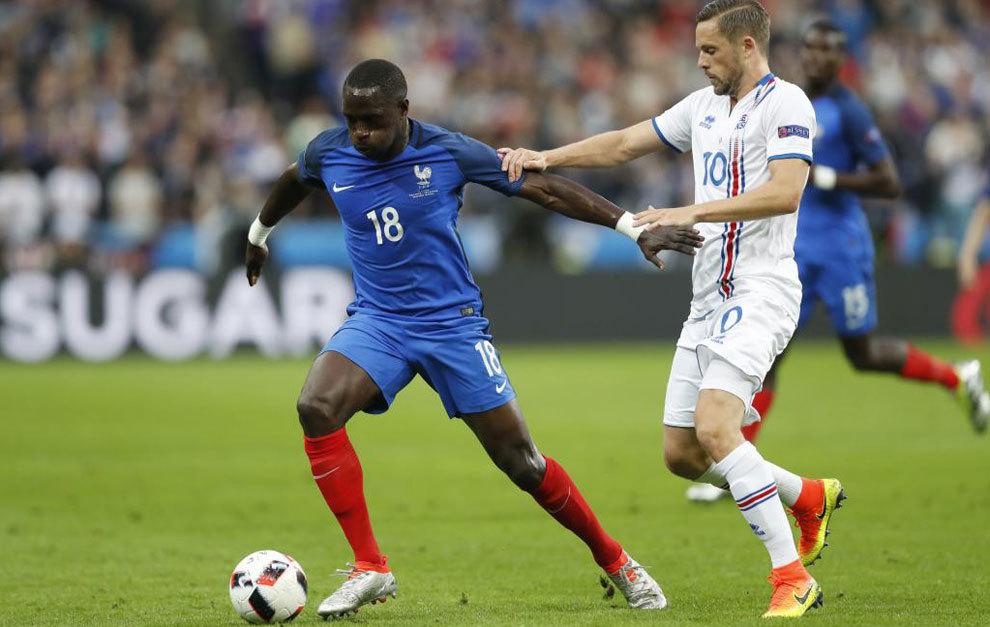 Mousa Sissoko tuvo un papel destacado en la Eurocopa de Francia. /