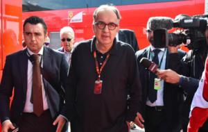 Sergio Marchionne en el pasado Gran premio de Italia