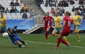 Janine Beckie marca a los 20 segundos el gol m�s r�pido de los...