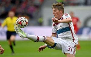 Bastian Schweinsteiger tuvo sus mejores a�os como jugador del Bayern....