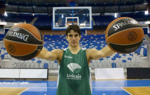 Carlos Su�rez (30), jugador de Unicaja M�laga