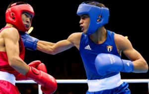 Boxeador Cubano en los pasados Juegos Olímpicos