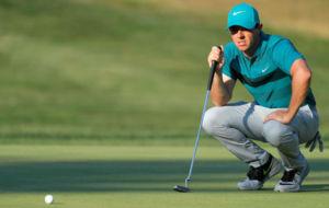 Rory McIlroy, durante el pasado PGA Championship