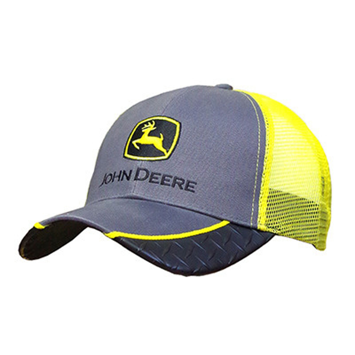 a691215334e30 Los vehículos para trabajar el campo también tienen sus incondicionales.  John Deere es objeto de culto con esta sofisticada gorra de estilo trucker  hat.