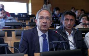 López Cerrón, en el último Foro MARCA sobre seguridad vial.