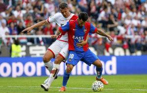 El centrocampista durante un encuentro de la temporada pasada