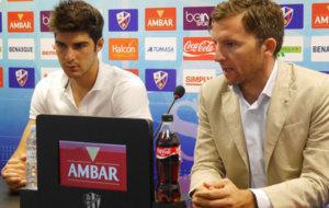 Gonzalo Melero durante su presentaci�n en la sala de prensa del...