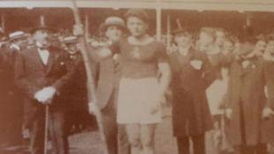 José García Lorenzana (Amberes 1920) - Atletismo