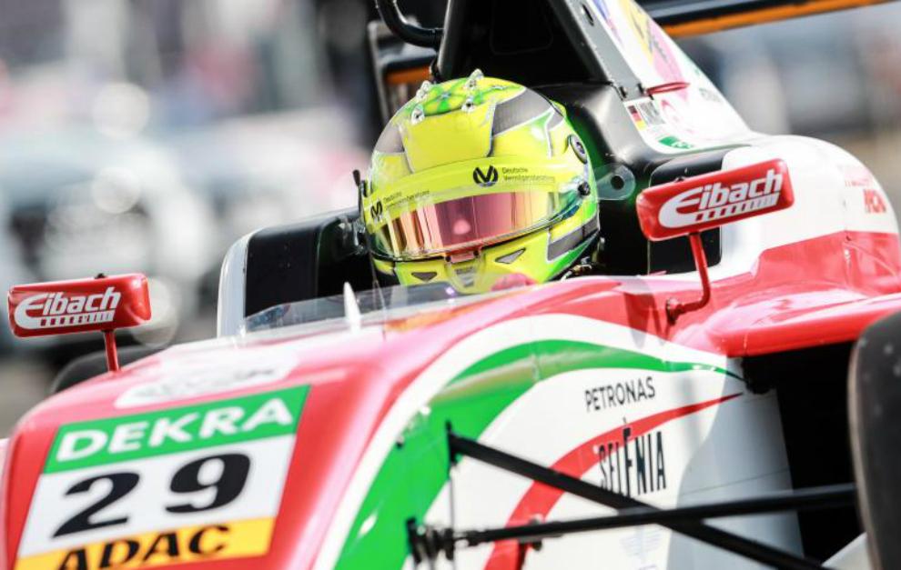 Mick Schumacher en la prueba de Nurburgring