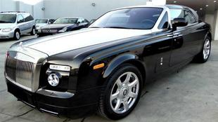 El Rolls-Royce Phantom Coupe de Schumacher que se ha puesto a la venta