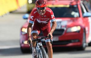 Purito Rodríguez, en el pasado Tour de Francia.