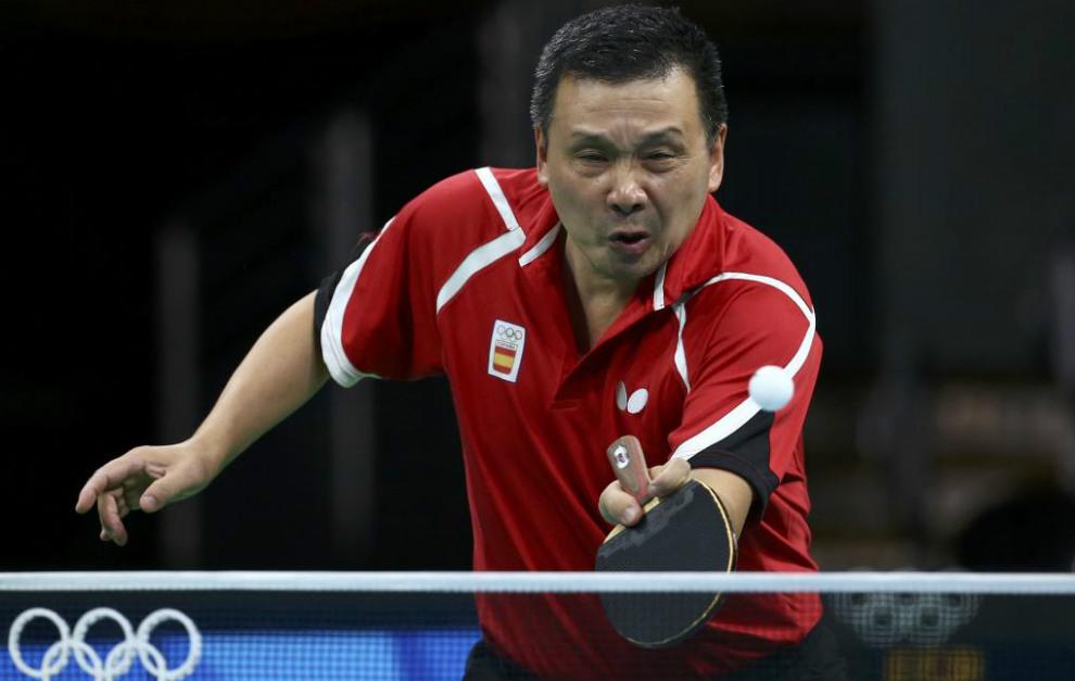 He Zhi Wen durante los Juegos de Río