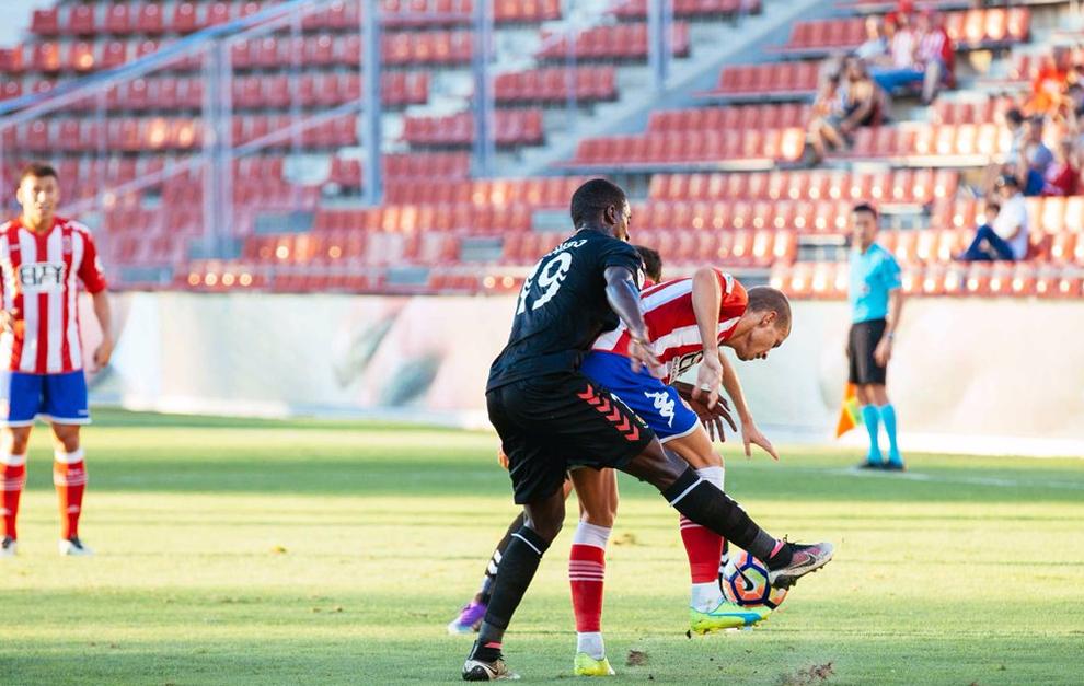 Girona y Nàstic disputaron un igualado encuentro en Montilivi.