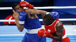 Sissokho lanza un golpe a Giyasov.