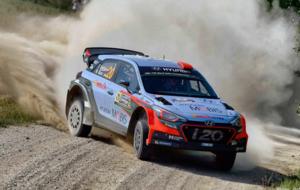 Dani Sordo en el pasado Rally de Polonia
