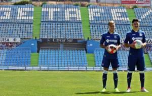 �lvaro y Faurl�n se estrenan de azulones en el Coliseum Alfonso...
