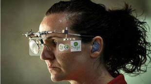 Sonia Franquet, española en tiro de pistola