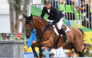 Michael Jung y su caballo 'Sam'.