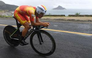 Jonathan Castroviejo, en la crono de los Juegos Olímpicos.