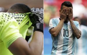 Rulli y Correa no pudieron clasificar a Argentina para los cuartos en...