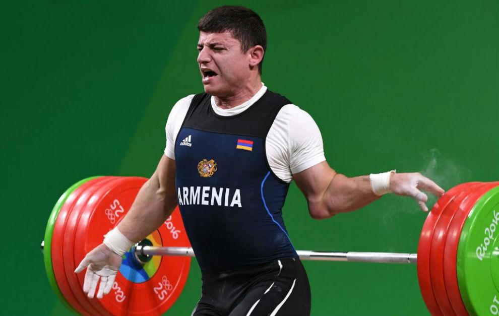 Andranik Karapetyan en el momento de su lesión.