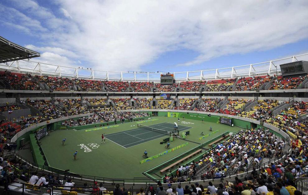 El cielo dio tregua a los tenistas después de la suspensión de la...