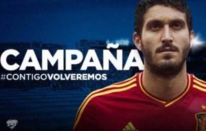 El Levante anuncia la contrataci�n de Jos� Campa�a.